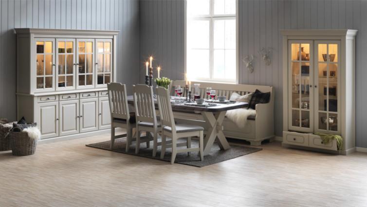 nygård spisestue med x fot bord spisestue med nygård spisebord ...